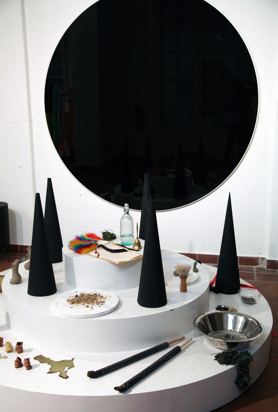 J&K, ter Heijne, Ray, Under Her Spell, installation view, Galerie im Körnerpark, photos: Mathilde ter Heijne