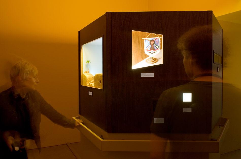 J&K, The Babylon Case, installation view at Pergamonmuseum Berlin, 2008, photo: Ch. Assmann