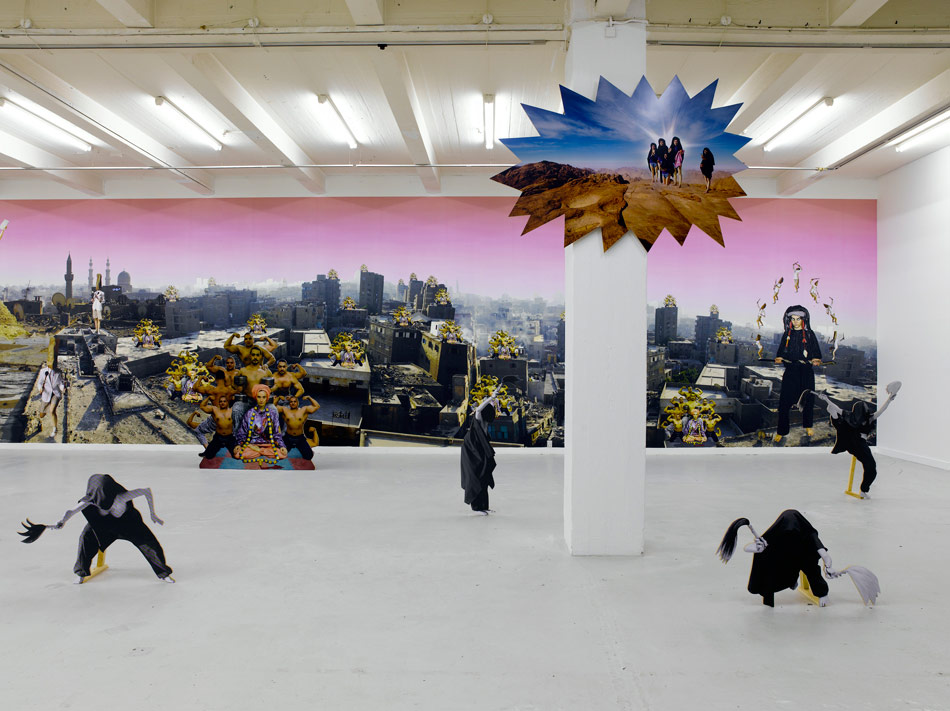 J&K, Egyptomaniacs, installation details, Overgaden – Institute for Contemporary Art, 2007, photos: Anders Sune Berg