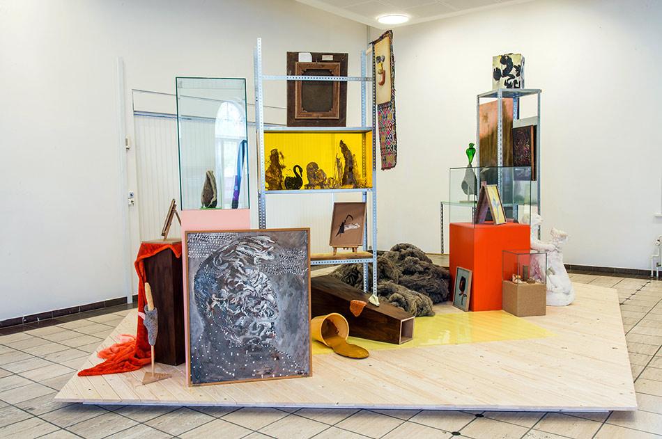 J&K, Museum of O.O.O., installation, Kunsten Aalborg, 2015, photo: Fabæk