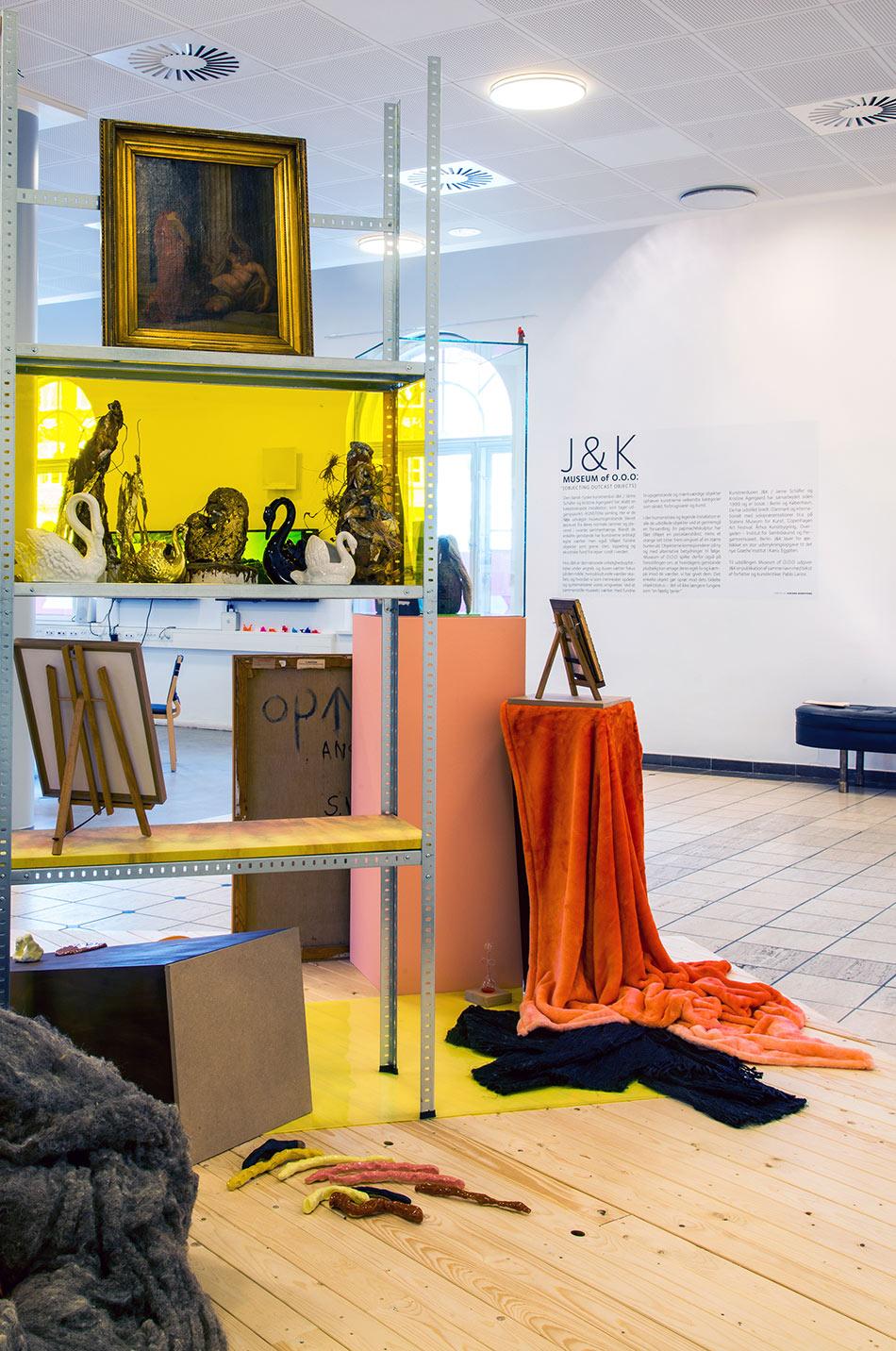 J&K, Museum of O.O.O., installation detail, Kunsten Aalborg, 2015, photo: Fabæk