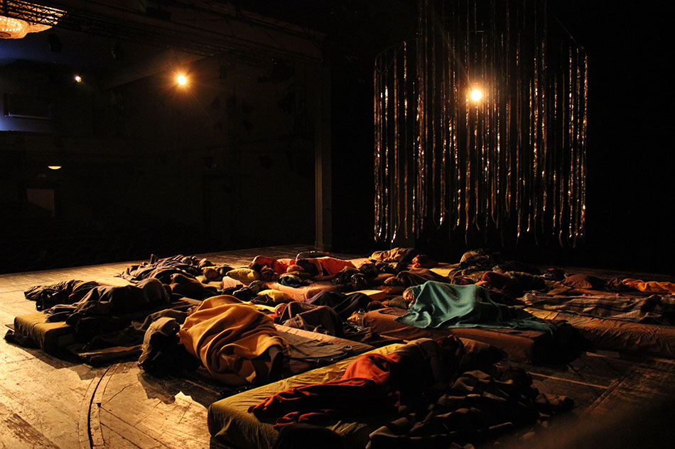 J&K, Steckbauer, Outliers, performance, ƒƒ - Taz 3, Teatr Studio, Warsaw, 2014, photo: J&K